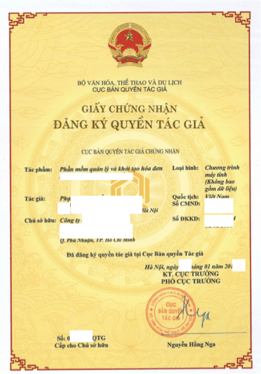 copyright in Vietnam - Copyright registration in Vietnam