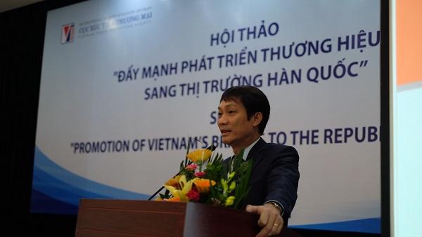 Đẩy mạnh phát triển thương hiệu Việt sang thị trường Hàn Quốc