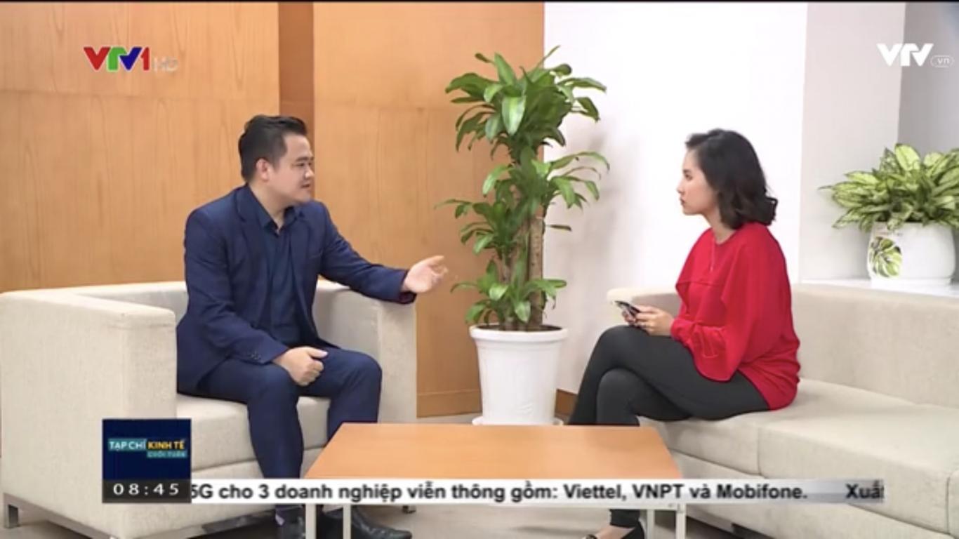 Luật sư Phạm Duy Khương trao đổi với phóng viên VTV về vấn đề Made In Vietnam
