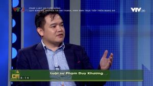Luật sư Phạm Duy Khương trao đổi góc nhìn pháp lý liên quan đến việc livestream, truyền phát âm thanh, hình ảnh trên mạng xã hội.