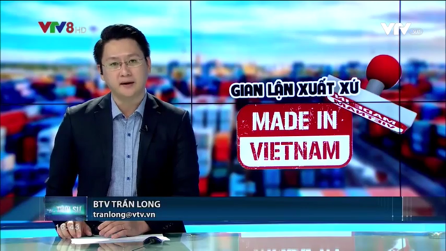 Lawyer Pham Duy Khuong of ASL LAW answered VTV about the effects of origin fraud of Made In Vietnam.