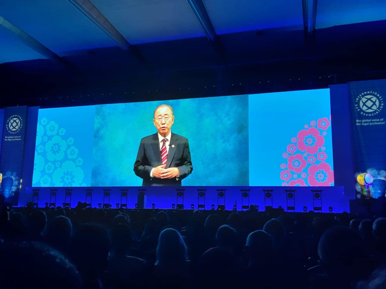 Bang Ki-moon, Former Secretary-General of the United Nations , shared thought about the IBA 2019