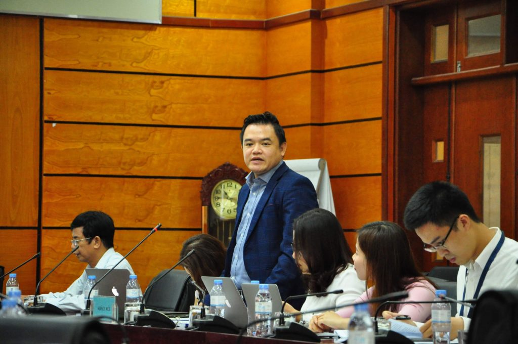 Lawyer Pham Duy Khuong presented at the Seminar on CPTPP: Commitments and Enforcement held by Hanoi Law University