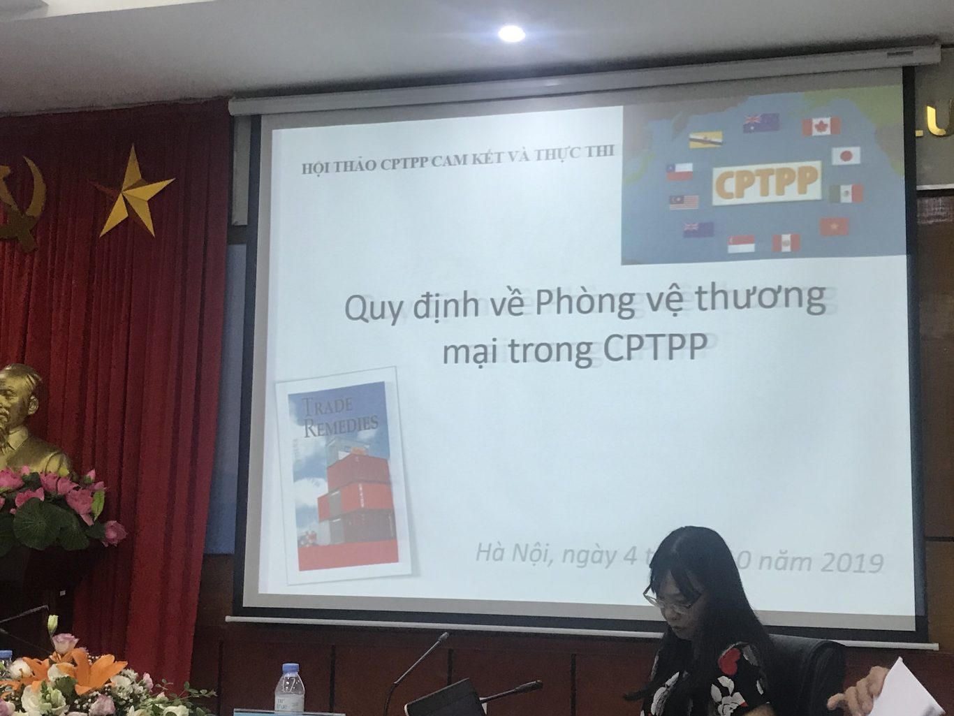 The seminar also discussed about the commitments of safeguard measures under CPTPP