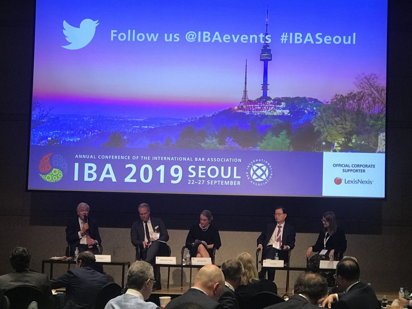 During the IBA 2019, partners of law firms discussed about management of a law firm