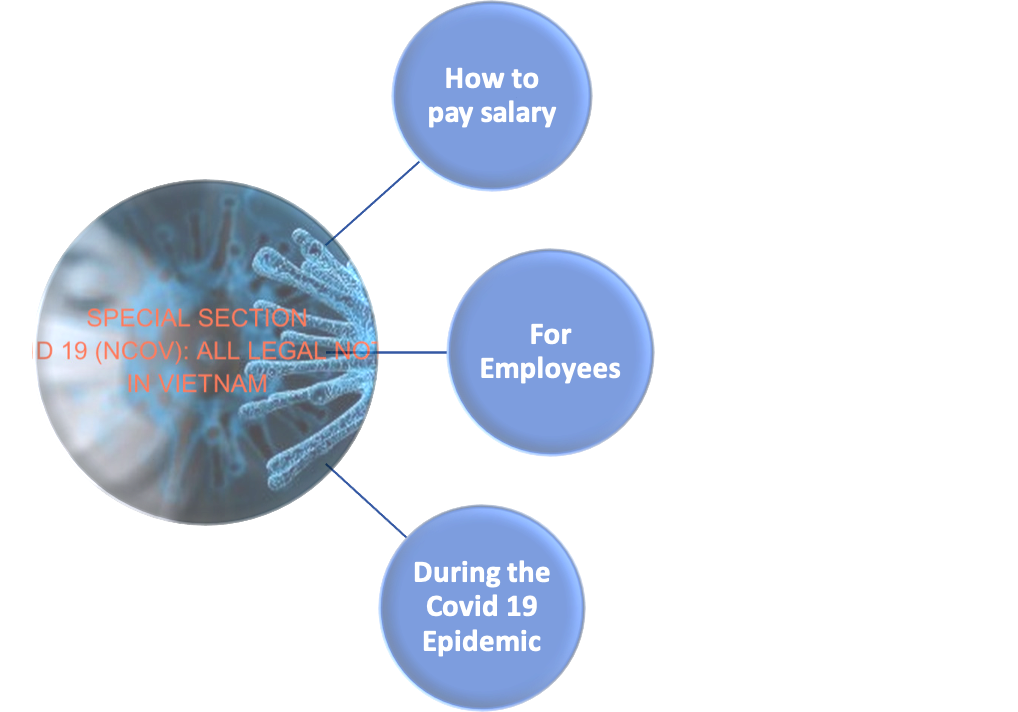 How to pay salary for employees during the Covid 19 (NCOV) under Vietnam Labour Law?