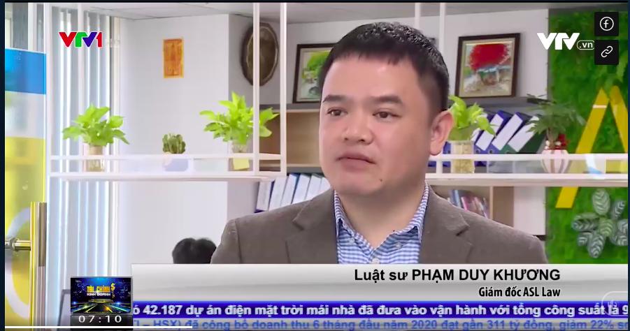 Luật sư Phạm Duy Khương trả lời VTV về quỹ bảo trì chung cư 2%
