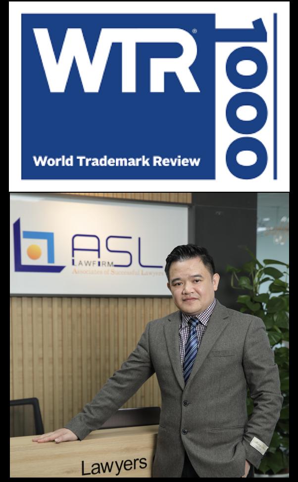 Luật sư Phạm Duy Khương được World trademark review 1000 (WTR) xếp hạng là luật sư hàng đầu Việt nam về tranh tụng và chiến lược liên quan đến nhãn hiệu, luật sư nhãn hiệu, luật sư sở hữu trí tuệ, luật sư nhãn hiệu hàng đầu, luật sư nhãn hiệu uy tín, luật về nhãn hiệu, danh sách luật sư nhãn hiệu