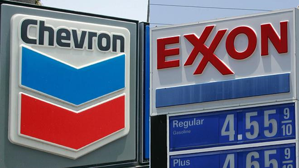 Historical M&A deal: Chevron and Exxon Mobil