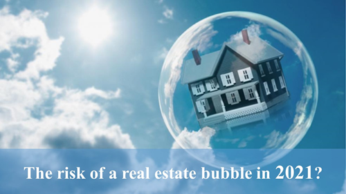 The risk of a real estate bubble in 2021, real estate bubble in Vietnam in 2021