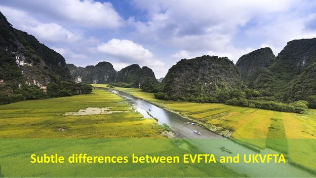 Subtle differences between EVFTA and UKVFTA