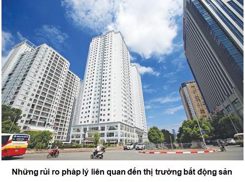Những rủi ro pháp lý liên quan đến thị trường bất động sản