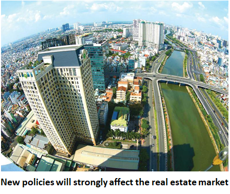 new policies affecting the real estate industry in Vietnam, new policies affecting the real estate market in Vietnam, real estate market in Vietnam